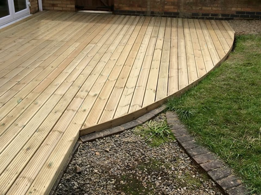 Green Fingers - Decking