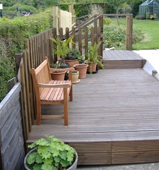 Green Fingers - Decking Area - After