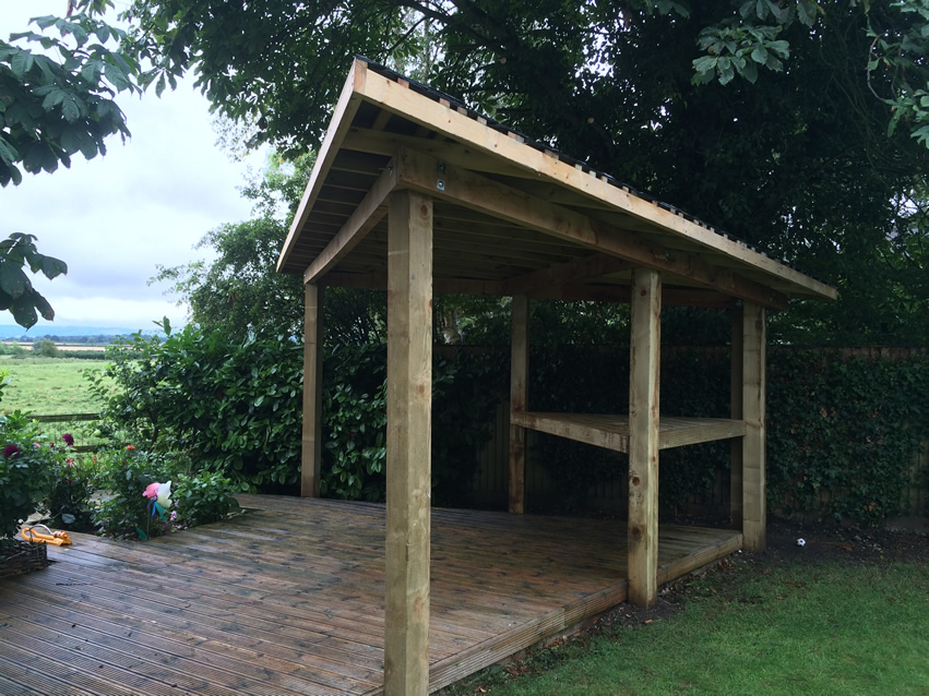 Green Fingers - Garden Shelter