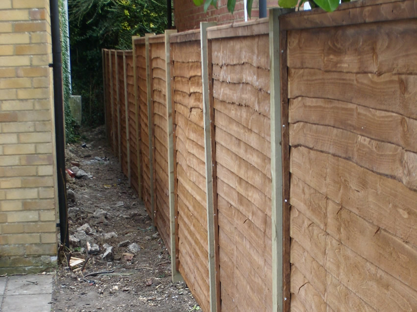 Green Fingers - Panel Fencing